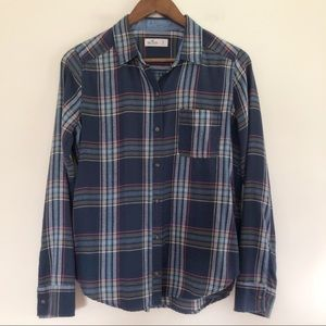 Hollister Button Down Long Sleeves Shirt
